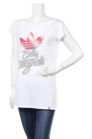 Γυναικείο t-shirt Adidas Originals, Μέγεθος XL, Χρώμα Λευκό, Τιμή 20,78€