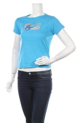 Дамска тениска Arizona Jean Co, Размер M, Цвят Син, Памук, Цена 6,83лв.