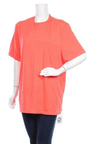 Γυναικείο t-shirt Athletic Works, Μέγεθος XXL, Χρώμα Ρόζ , 65% πολυεστέρας, 35% βαμβάκι, Τιμή 5,26€