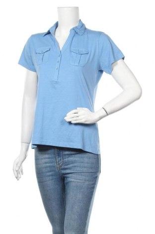 Дамска тениска Blue Motion, Размер M, Цвят Син, Памук, Цена 18,90лв.