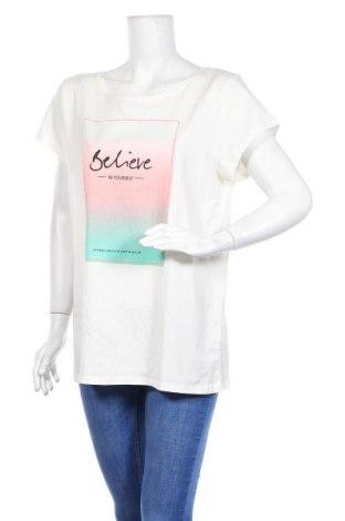 Дамска тениска Colours Of The World, Размер XL, Цвят Бял, Памук, Цена 19,95лв.