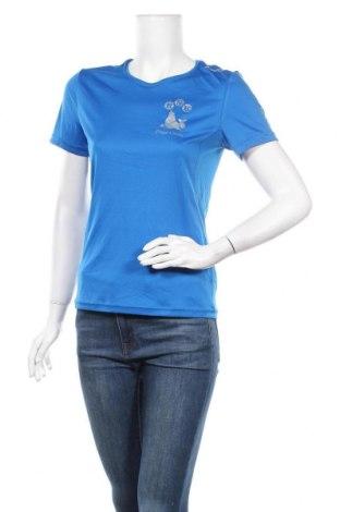 Дамска тениска Craft, Размер S, Цвят Син, 100% полиестер, Цена 5,54лв.