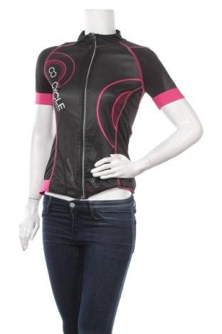 Дамска тениска Crivit, Размер S, Цвят Черен, Полиестер, Цена 14,18лв.