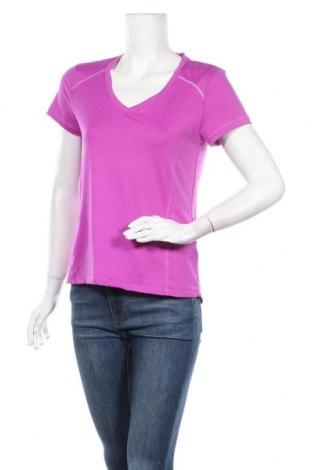 Γυναικείο t-shirt Crivit, Μέγεθος L, Χρώμα Βιολετί, 88% πολυεστέρας, 12% ελαστάνη, Τιμή 4,09€