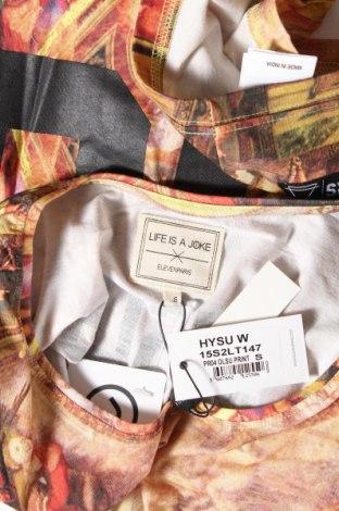 Дамска тениска Eleven Paris x Life is a joke, Размер S, Цвят Многоцветен, Памук, Цена 23,40лв.