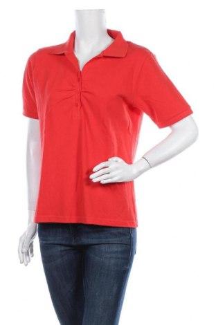 Дамска тениска Joy, Размер L, Цвят Червен, Памук, Цена 10,71лв.
