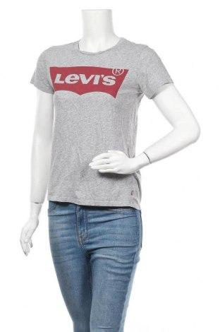 Дамска тениска Levi's, Размер XS, Цвят Сив, Памук, Цена 21,60лв.