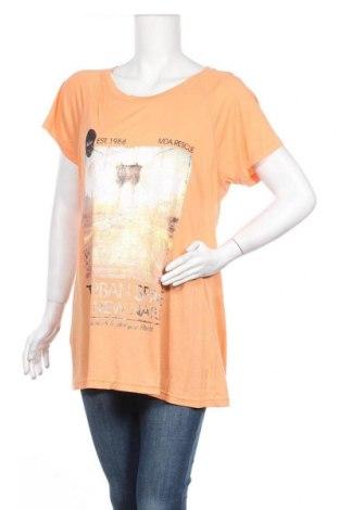 Дамска тениска Madonna, Размер XL, Цвят Оранжев, Вискоза, Цена 9,24лв.