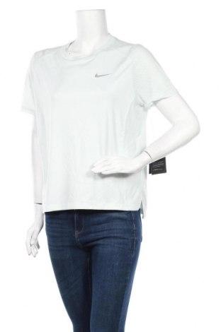 Дамска тениска Nike, Размер L, Цвят Син, Полиестер, Цена 20,74лв.