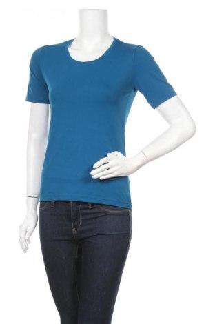Дамска тениска S. Marlon, Размер S, Цвят Син, 95% полиамид, 5% еластан, Цена 11,03лв.