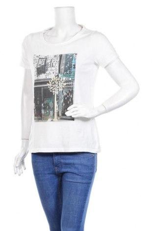 Дамска тениска S.Oliver, Размер S, Цвят Бял, Памук, Цена 18,90лв.