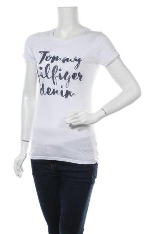 Дамска тениска Tommy Hilfiger, Размер M, Цвят Бял, Цена 39,90лв.