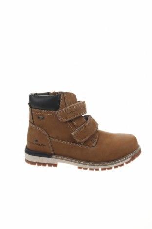 Παιδικά παπούτσια Tom Tailor, Μέγεθος 37, Χρώμα Καφέ, Δερματίνη, Τιμή 24,90€