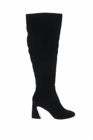 Γυναικείες μπότες Miss Selfridge, Μέγεθος 41, Χρώμα Μαύρο, Κλωστοϋφαντουργικά προϊόντα, Τιμή 32,16€