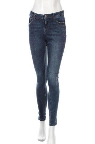Дамски дънки Denim&Co., Размер M, Цвят Син, 64% памук, 22% полиестер, 11% вискоза, 3% еластан, Цена 19,11лв.