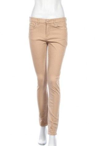 Дамски дънки Joe Fresh, Размер M, Цвят Бежов, 99% памук, 1% еластан, Цена 8,19лв.