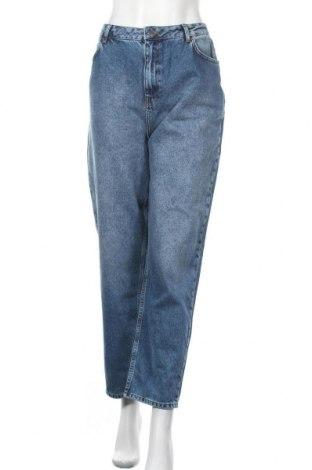 Дамски дънки NU-IN, Размер XL, Цвят Син, Памук, Цена 39,00лв.