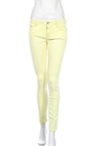 Дамски дънки Street One, Размер M, Цвят Жълт, 84% памук, 14% полиестер, 2% еластан, Цена 22,94лв.