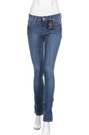 Дамски дънки Tara, Размер S, Цвят Син, 98% памук, 2% еластан, Цена 32,13лв.