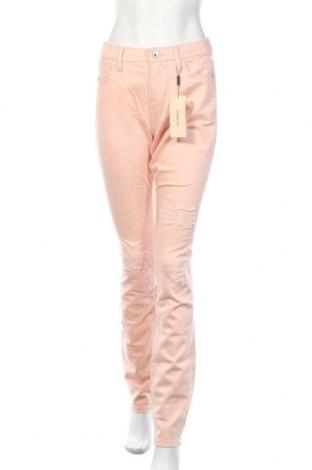 Дамски дънки Triangle By s.Oliver, Размер M, Цвят Розов, 98% памук, 2% еластан, Цена 28,00лв.