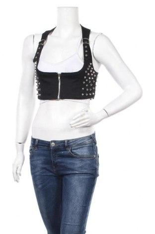 Дамски елек, Размер M, Цвят Черен, 95% памук, 5% еластан, Цена 18,90лв.