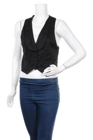 Дамски елек Colours Of The World, Размер L, Цвят Черен, 97% памук, 3% еластан, Цена 3,00лв.