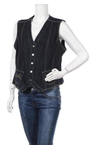 Дамски елек Gerry Weber, Размер XL, Цвят Син, 84% памук, 15% полиестер, 1% еластан, Цена 33,60лв.