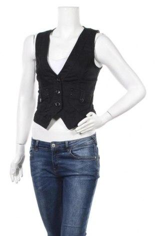 Дамски елек Hallhuber, Размер XS, Цвят Черен, Цена 26,62лв.