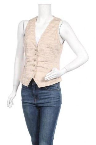 Дамски елек S.Oliver, Размер M, Цвят Бежов, 98% памук, 2% еластан, Цена 5,31лв.