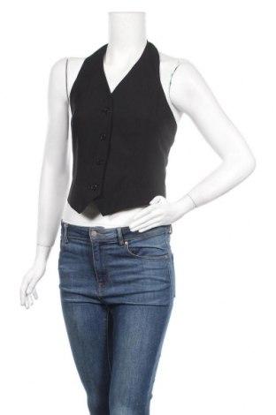 Дамски елек Vivien Caron, Размер S, Цвят Черен, 100% полиестер, Цена 20,95лв.