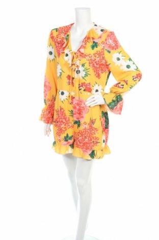 Дамски гащеризон Boohoo, Размер XL, Цвят Многоцветен, Полиестер, Цена 10,08лв.