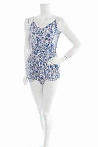 Дамски гащеризон H&M, Размер S, Цвят Бял, Вискоза, Цена 23,21лв.