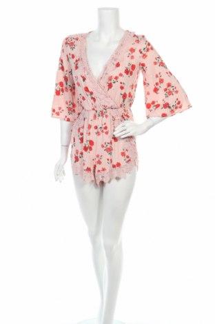 Дамски гащеризон H&M Divided, Размер XS, Цвят Розов, Вискоза, Цена 9,92лв.