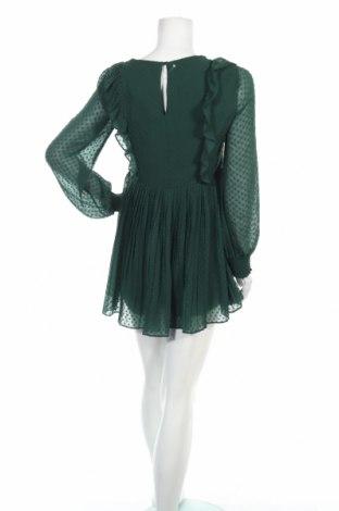 Дамски гащеризон Zara Trafaluc, Размер M, Цвят Зелен, Полиестер, Цена 51,75лв.