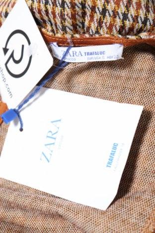Дамски гащеризон Zara Trafaluc, Размер S, Цвят Многоцветен, 98% полиестер, 2% еластан, Цена 13,57лв.