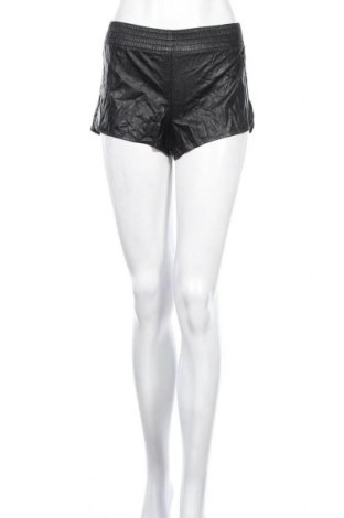 Дамски къс кожен панталон Forever 21, Размер XS, Цвят Черен, Еко кожа, Цена 13,23лв.