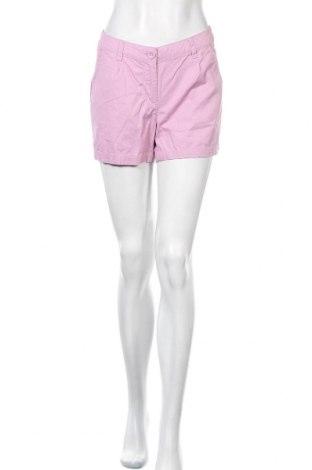 Γυναικείο κοντό παντελόνι, Μέγεθος M, Χρώμα Βιολετί, Βαμβάκι, Τιμή 4,55€