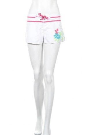 Γυναικείο κοντό παντελόνι, Μέγεθος S, Χρώμα Λευκό, Πολυεστέρας, Τιμή 4,09€