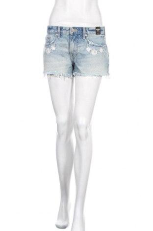 Γυναικείο κοντό παντελόνι Abercrombie & Fitch, Μέγεθος S, Χρώμα Μπλέ, Βαμβάκι, Τιμή 34,68€
