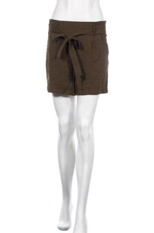 Γυναικείο κοντό παντελόνι Amisu, Μέγεθος S, Χρώμα Πράσινο, 92% βισκόζη, 8% πολυεστέρας, Τιμή 7,15€