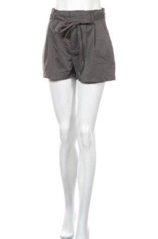 Γυναικείο κοντό παντελόνι Amisu, Μέγεθος S, Χρώμα Γκρί, 76% πολυεστέρας, 21% βισκόζη, 3% ελαστάνη, Τιμή 11,04€