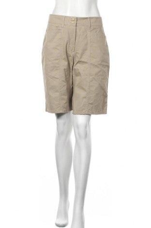 Дамски къс панталон Anne L., Размер M, Цвят Бежов, Памук, Цена 13,23лв.