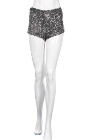 Γυναικείο κοντό παντελόνι Bik Bok, Μέγεθος XS, Χρώμα Γκρί, Πολυεστέρας, Τιμή 3,86€