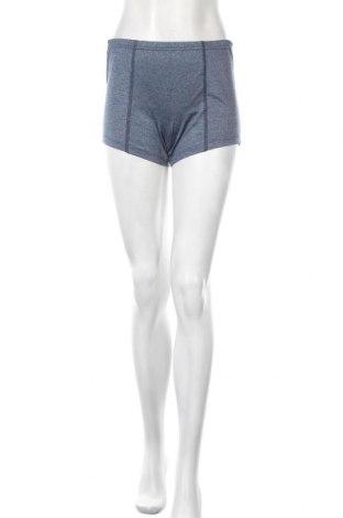 Дамски къс панталон Crazy World, Размер S, Цвят Син, 49% полиестер, 43% полиамид, 8% еластан, Цена 7,35лв.