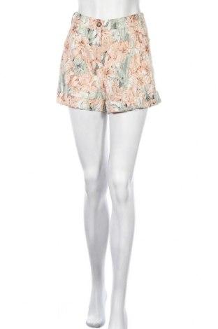 Γυναικείο κοντό παντελόνι Esmara, Μέγεθος L, Χρώμα Πολύχρωμο, 55% λινό, 45% βαμβάκι, Τιμή 7,31€