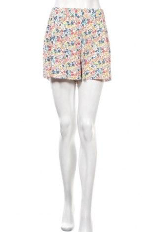 Γυναικείο κοντό παντελόνι French Connection, Μέγεθος L, Χρώμα Πολύχρωμο, Βισκόζη, Τιμή 22,94€