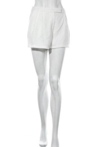 Γυναικείο κοντό παντελόνι Gina Tricot, Μέγεθος L, Χρώμα Λευκό, Πολυεστέρας, Τιμή 9,29€