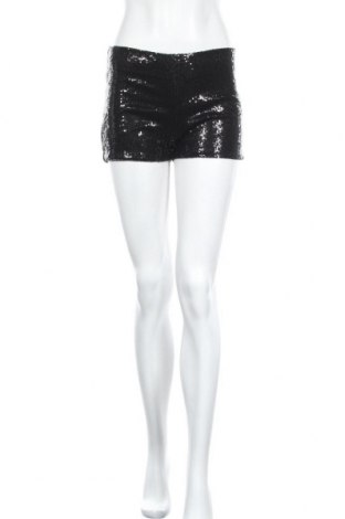Дамски къс панталон Gina Tricot, Размер S, Цвят Черен, Полиестер, Цена 10,24лв.