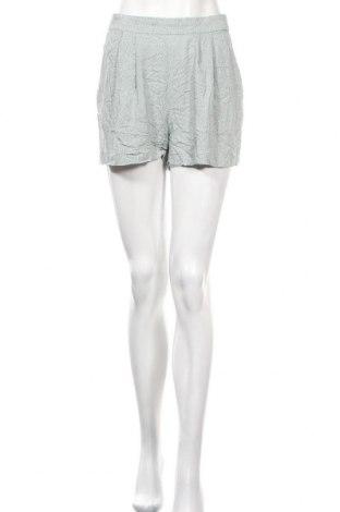 Γυναικείο κοντό παντελόνι H&M, Μέγεθος S, Χρώμα Πράσινο, Βισκόζη, Τιμή 4,09€