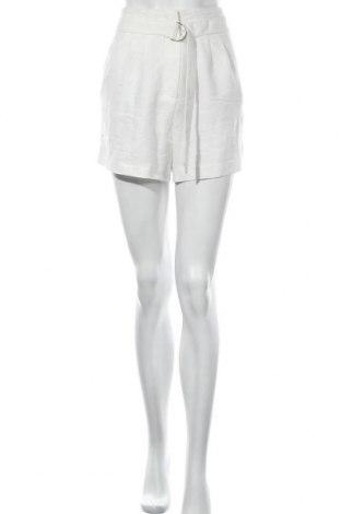 Γυναικείο κοντό παντελόνι H&M, Μέγεθος XXS, Χρώμα Λευκό, 66% μοντάλ, 34% πολυεστέρας, Τιμή 12,96€